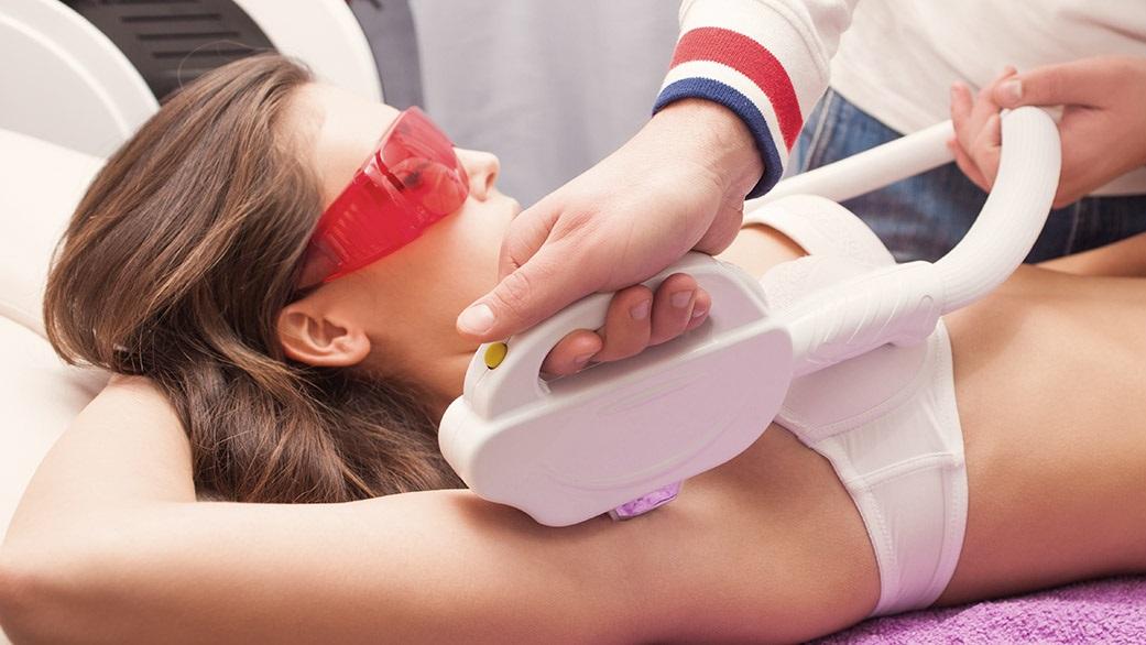 Laserowa depilacja nóg